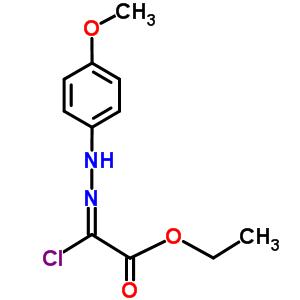 ethyl chloro[2-(4-methoxyphenyl)hydrazinylidene]acetate 27143-07-3