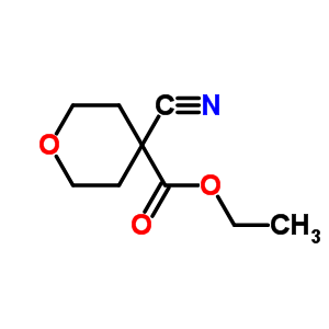 30431-99-3 ethyl 4-cyanotetrahydro-2H-pyran-4-carboxylate