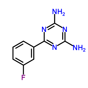 30530-43-9 6-(3-fluorophenyl)-1,3,5-triazine-2,4-diamine