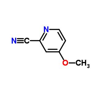 36057-44-0 4-methoxypyridine-2-carbonitrilato