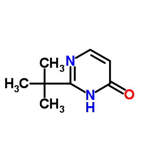 42351-88-2 2-tert-butylpyrimidin-4(3H)-one
