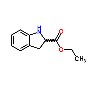 50501-07-0 ethyl 2,3-dihydro-1H-indole-2-carboxylate