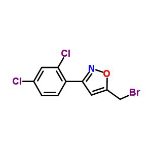 5301-00-8 5-(bromomethyl)-3-(2,4-dichlorophenyl)-1,2-oxazole