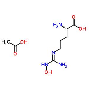 NG-Hydroxy-L-arginine monoacetate 53598-01-9