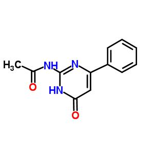 54286-78-1 N-(6-oxo-4-phenyl-1,6-dihydropyrimidin-2-yl)acetamide