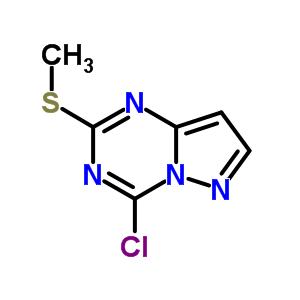 54346-19-9 4-chloro-2-(methylsulfanyl)pyrazolo[1,5-a][1,3,5]triazine