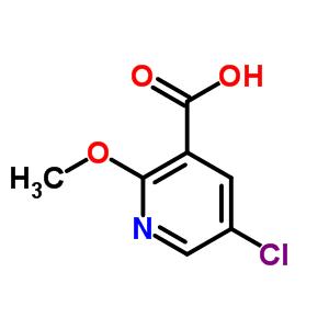 54916-65-3 5-chloro-2-methoxypyridine-3-carboxylic acid