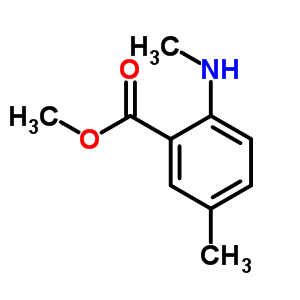 55150-24-8 methyl 5-methyl-2-(methylamino)benzoate