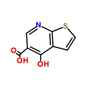 55503-32-7 4-hydroxythieno[2,3-b]pyridine-5-carboxylic acid