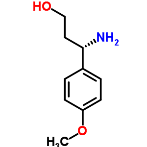(S)-3-氨基-3-(4-甲氧基苯基)丙烷-1-醇 886061-27-4