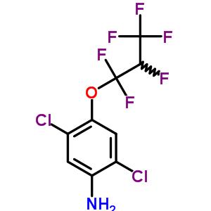 103015-84-5 2,5-dichloro-4-(1,1,2,3,3,3-hexafluoropropoxy)aniline