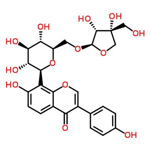 葛根素芹菜糖苷 103654-50-8