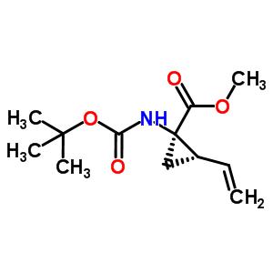 (1R,2S)-1-[[(1,1-Dimethylethoxy)Carbonyl]Amino]-2-Ethenyl-Cyclopropanecarboxylic Acid Methyl Ester  159622-09-0
