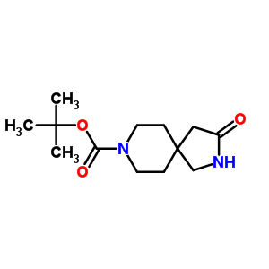 169206-67-1 tert-butyl 3-oxo-2,8-diazaspiro[4.5]decane-8-carboxylate