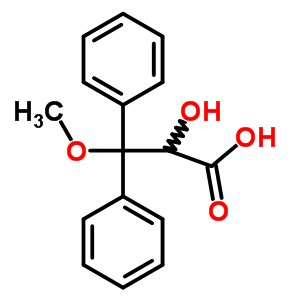 2-Hydroxy-3-methoxy-3,3-diphenylpropanoic acid 178306-51-9
