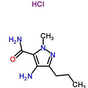 247584-10-7 4-amino-1-methyl-3-propyl-1H-pyrazole-5-carboxamide hydrochloride (1:1)