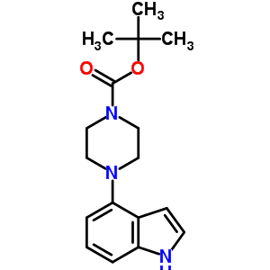 252978-89-5 tert-butyl 4-(1H-indol-4-yl)piperazine-1-carboxylate