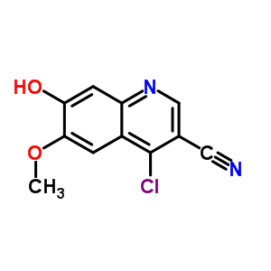 263149-10-6;263149-10-8 4-chloro-7-hydroxy-6-methoxyquinoline-3-carbonitrile