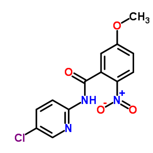 280773-16-2 N-(5-chloropyridin-2-yl)-5-methoxy-2-nitrobenzamide