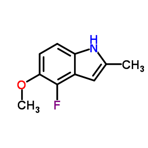 4-Fluoro-5-methoxy-2-methylindole 288385-93-3