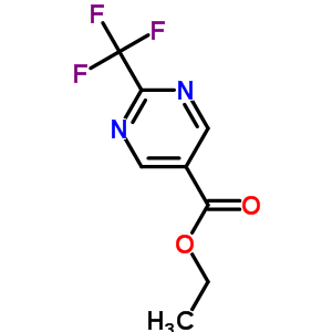 2-三氟甲基嘧啶-5-甲酸乙酯 304693-64-9