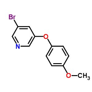 374934-98-2 3-bromo-5-(4-methoxyphenoxy)pyridine