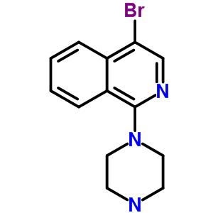 401567-96-2 4-bromo-1-(piperazin-1-yl)isoquinoline