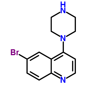 474707-24-9 6-bromo-4-(piperazin-1-yl)quinoline