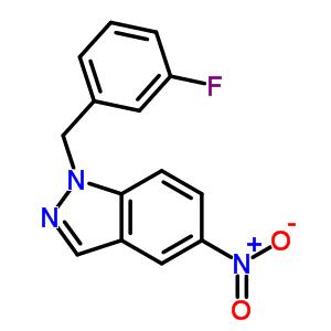 529508-58-5 1-(3-fluorobenzyl)-5-nitro-1H-indazole