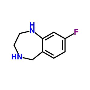 620948-83-6 8-Fluoro-2,3,4,5-tetrahydro-1H-1,4-benzodiazepine