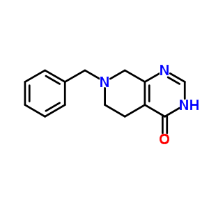 62458-96-2 7-benzyl-5,6,7,8-tetrahydropyrido[3,4-d]pyrimidin-4(3H)-one