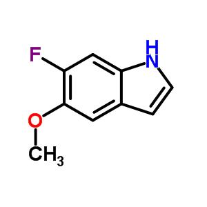 63762-83-4 6-fluoro-5-methoxy-1H-indole