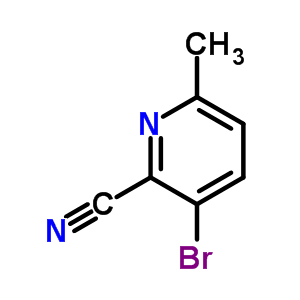717843-48-6 3-bromo-6-methylpyridine-2-carbonitrile
