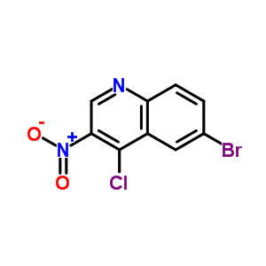 6-溴-4-氯-3-硝基喹啉 723281-72-9