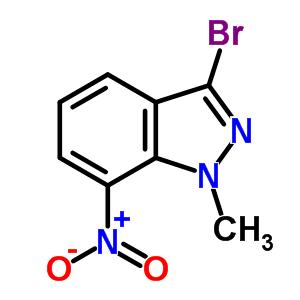 74209-37-3 3-bromo-1-methyl-7-nitro-1H-indazole