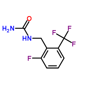 830346-46-8 1-[2-fluoro-6-(trifluoromethyl)benzyl]urea