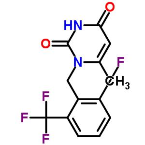 830346-47-9 1-[2-fluoro-6-(trifluoromethyl)benzyl]-6-methylpyrimidine-2,4(1H,3H)-dione