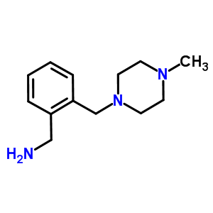 879896-50-1 1-{2-[(4-methylpiperazin-1-yl)methyl]phenyl}methanamine