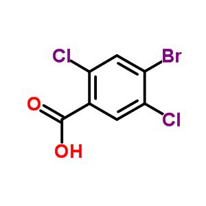 4-溴-2,5-二氯苯甲酸 885532-41-2