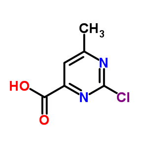 89581-58-8 2-chloro-6-methylpyrimidine-4-carboxylic acid