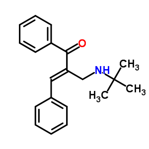 14182-03-7 (2E)-2-[(tert-butylamino)methyl]-1,3-diphenylprop-2-en-1-one