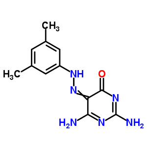30189-01-6 2,6-diamino-5-[(3,5-dimethylphenyl)hydrazono]pyrimidin-4(5H)-one