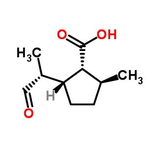 524-06-1 (1R,2S,5R)-2-methyl-5-[(1R)-1-methyl-2-oxoethyl]cyclopentanecarboxylic acid