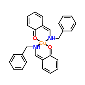 14655-06-2 (6Z)-6-[(benzylamino)methylidene]cyclohexa-2,4-dien-1-one - copper (2:1)