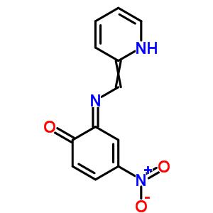 29644-92-6 (6E)-4-nitro-6-[(pyridin-2(1H)-ylidenemethyl)imino]cyclohexa-2,4-dien-1-one