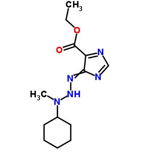 36137-87-8 ethyl 4-(3-cyclohexyl-3-methyltriazanylidene)-4H-imidazole-5-carboxylate