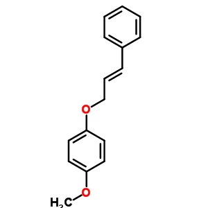 38276-72-1 1-methoxy-4-{[(2E)-3-phenylprop-2-en-1-yl]oxy}benzene