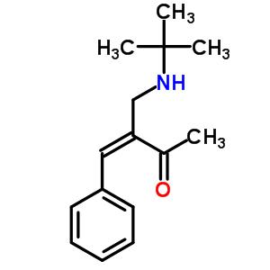 42968-03-6 (3Z)-3-[(tert-butylamino)methyl]-4-phenylbut-3-en-2-one