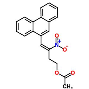 19893-75-5 (3Z)-3-nitro-4-phenanthren-9-ylbut-3-en-1-yl acetate