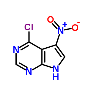 22277-01-6 4-chloro-5-nitro-7H-pyrrolo[2,3-d]pyrimidine